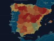Mapa de bares y restaurantes cerrados por la pandemia.