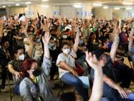 Personas vacunadas contra el COVID-19.