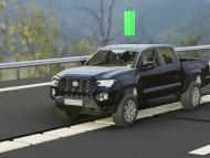 Proyecto de carretera con carga eléctrica de la empresa alemana Magment.