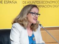 La vicepresidenta primera y ministra de Economía, Nadia Calviño