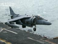 Un Harrier del Ejército estadounidense