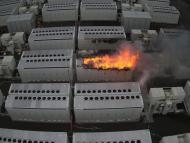 Incendio batería Tesla