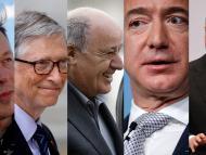 millonarios Musk Zuckerberg Amancio Ortega Bezos Bill Gates