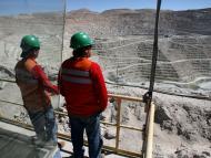 Mina de cobre Escondida, ubicada en la región chilena de Antofagasta