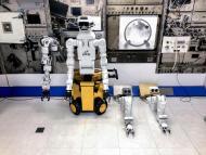 Robot Nanoracks-GITAI, que viaja al espacio de la mano de SpaceX.