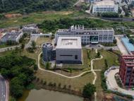 Vista aérea del Instituto de Virología de Wuhan (China)