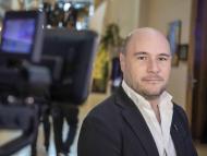 El CEO de la empresa de fan tokens deportivos Socios.com, Alex Dreyfus.