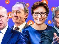 Los CEO de Goldman Sachs, Morgan Stanley, Citigroup y JP Morgan.