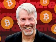 El CEO de MicroStrategy, Michael Saylor, está apostando fuerte por bitcoin.