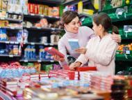 compra supermercado con niños