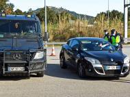 Control de tráfico en Cataluña