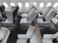 Diseño Interspace cabina avión