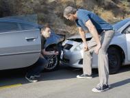Dos conductores sufren un accidente de tráfico