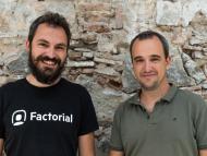 Dos de los fundadores de Factorial, Jordi Romero y Bernat Farrero