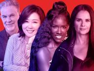 Los ejecutivos de Netflix Reed Hastings, Minyoung Kim, Bozoma Saint John y Bela Bajaria.