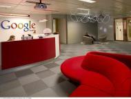 Entrada a las oficinas de Google España.