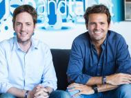 Felipe Navío (i) y Juan Urdiales (d), cofundadores de Jobandtalent