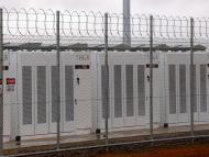 Imagen del Hornsdale Power Reserve, la planta de baterías en Australia creada por Tesla.