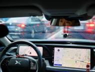 Imagen del interior de uno de los modelos de la marca china de vehículos Xpeng