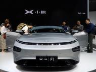 Imagen del Xpeng P7, sedan de la compañía china