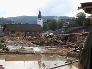 Inundación en Alemania en verano de 2021