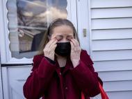 María Romero, una mujer con covid persistente, en Stamford, Connecticut.
