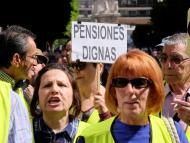 Pensionistas en una manifestación