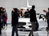 El Polestar 1 en la Feria del Automóvil de Múnich 2021