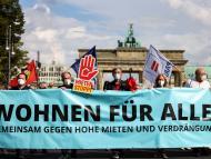 Protestas en Berlín contra el encarecimiento de los alquileres