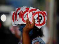 Protestas en El Salvador por el bitcoin