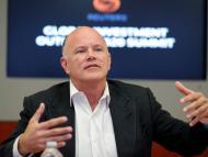 El criptomillonario CEO de Galaxy Digital, Mike Novogratz.