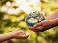 globo planeta Tierra