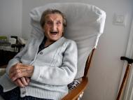 mujer anciana