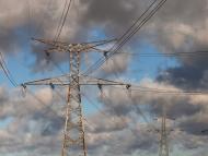 Postes de electricidad.