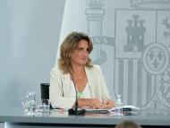 La vicepresidenta tercera del Gobierno y ministra para la Transición Ecológica y el Reto Demográfico, Teresa Ribera.
