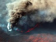 Volcán de La Palma en las Islas Canarias