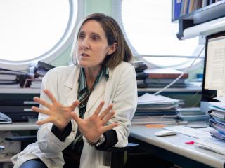 Isabel Sola, investigadora del CSIC.