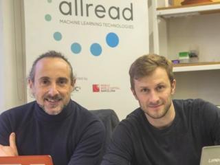 Los cofundadores de Allread MLT, su CEO, Miguel Silva-Constenla, y su COO, Adriaan Landman