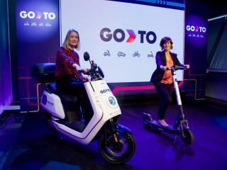 Marie Lindström, Country Manager de GoTo España (d), y Shirly Kalush, Chief Operation Officer (COO) de GoTo Global (i).