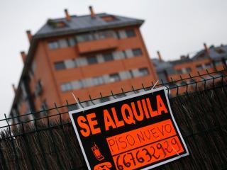 Anuncio de un piso en alquiler en Madrid