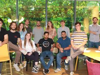 Equipo de la startup de cocinas fantasma Cuyna