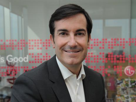 Carlos Olave, director global de recursos humanos de LG.