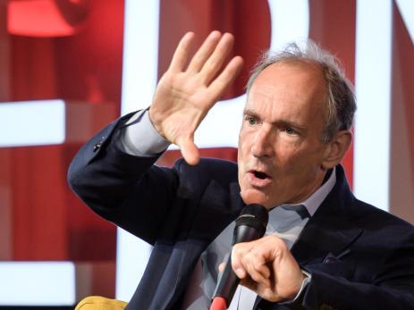 Tim Berners-Lee, creador del World Wide Web.