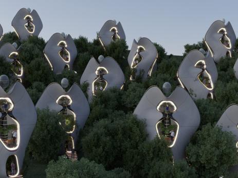 Casas modulares impresas en 3D