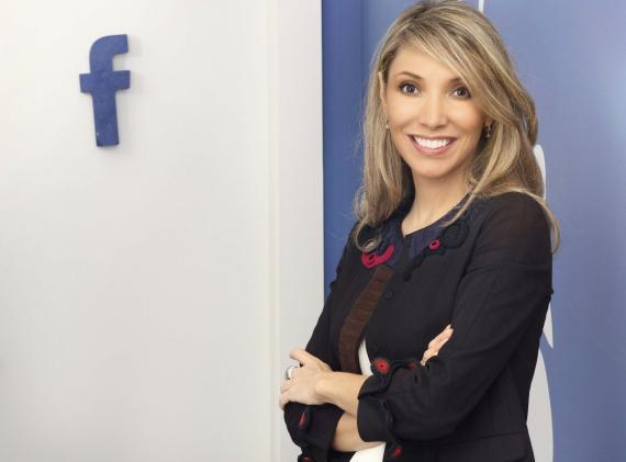 Irene Cano, directora general de Facebook Iberia.