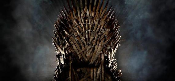 El trono de hierro de Canción de Hielo y Fuego - Juego de Tronos