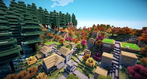 Aldea Minecraft