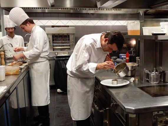 """Las cocinas de Jérôme Brochot: """"Ha sido catastrófico estos tres últimos años""""."""