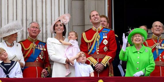 Podríamos decir que la familia real tiene dinero antiguo