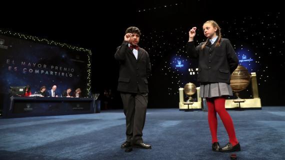 El Sorteo Especial de Navidad tiene lugar en el Teatro Real de Madrid